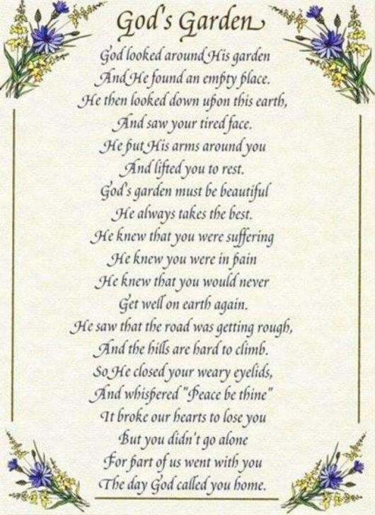 Great God'S Garden Poem Words Picture864