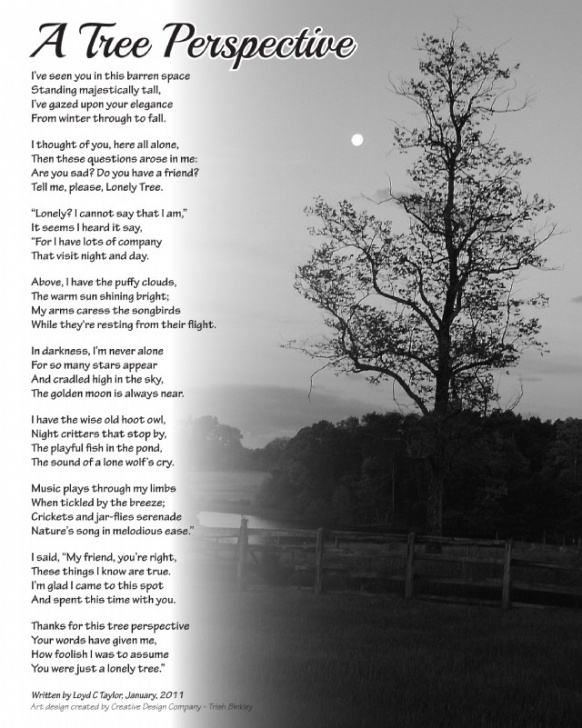 Great Poem About Plants And Trees Image581