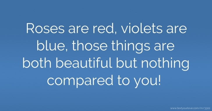 Great Roses Are Red Violets Are Blue And I Love You Picture591