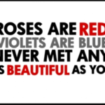 Great Roses Are Red Violets Are Violet Poem Photo579