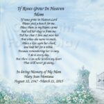 Great Roses For Mother Poem Pics275