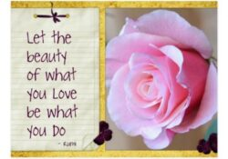 Great Rumi Rose Poem Picture666