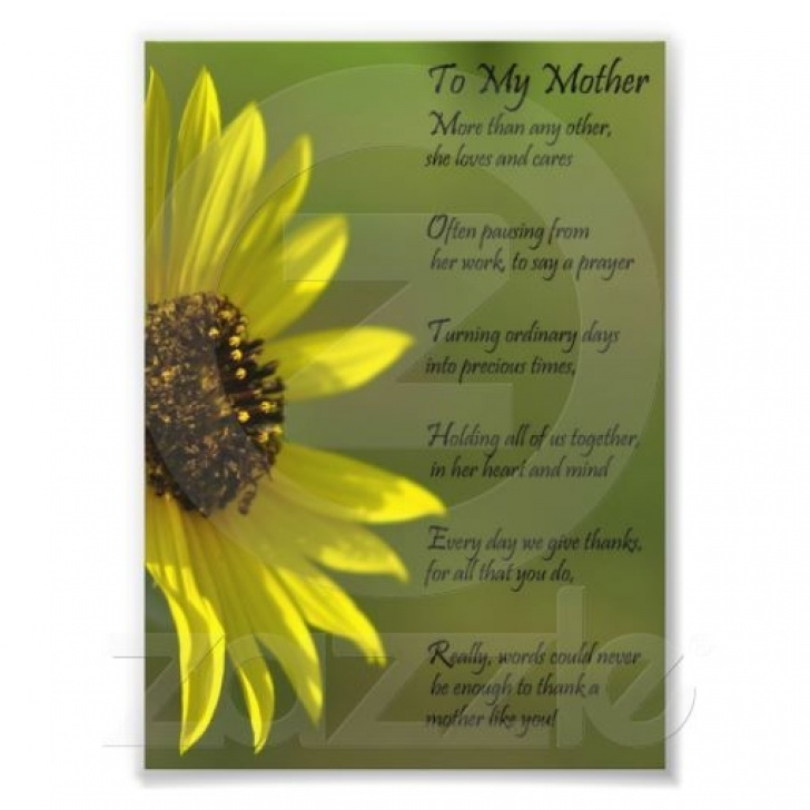 Great Sunflower Poem For Her Photo004