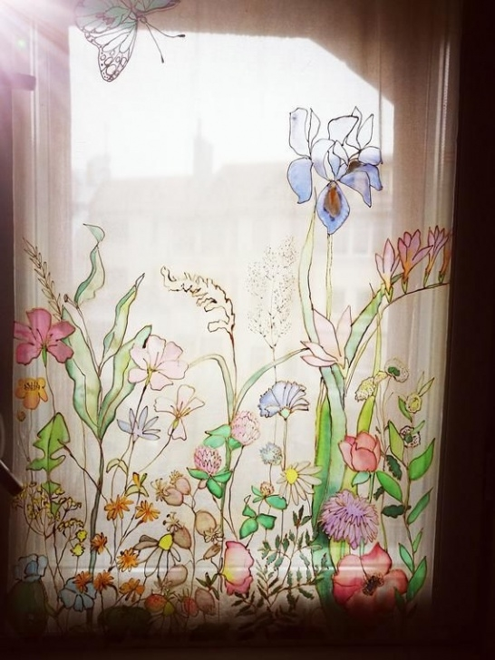 Great Wind And Window Flower Image044