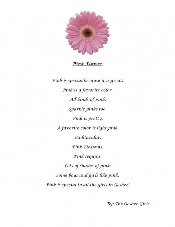 Greatest Best Poems About Flowers Picture880
