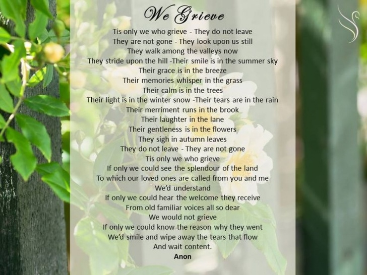 Greatest Gardening Poetry Suitable For Funerals Picture022
