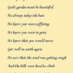 Greatest God'S Garden Poem Image474