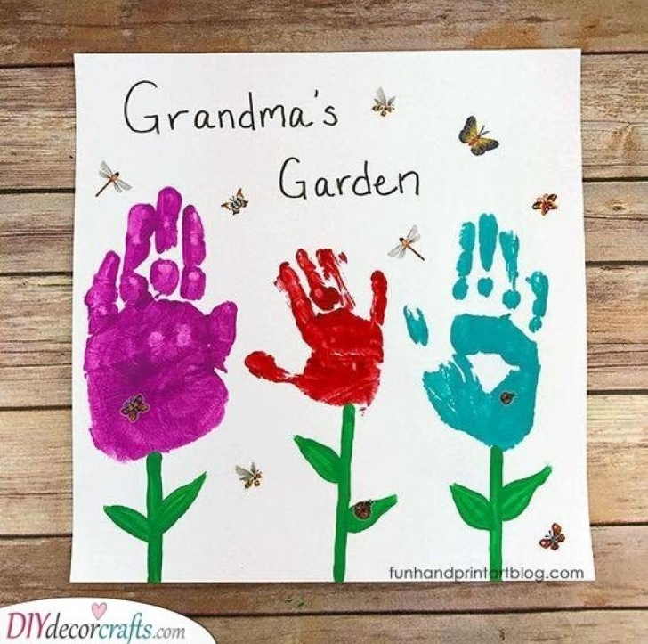 Greatest Grandma'S Garden Poem Picture821