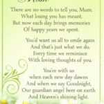 Greatest If Flowers Grow In Heaven Poem Pic749