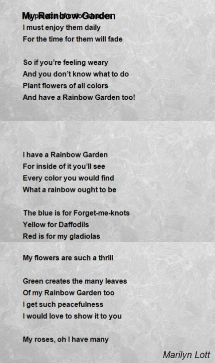 Greatest Love Is Like A Garden Poem Picture473