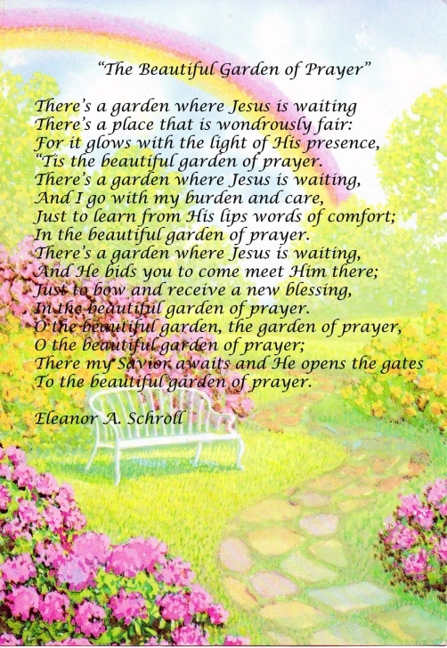 Greatest Poems About Gardens And God Image131