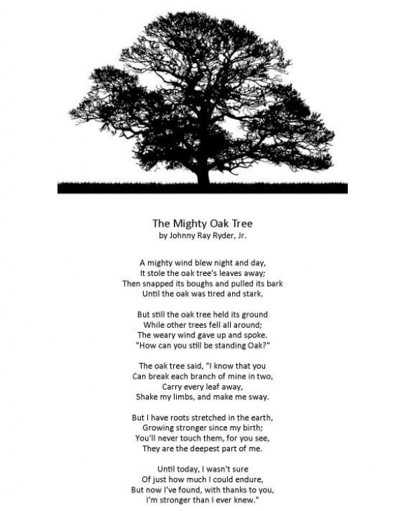 Greatest Poems About Trees And Strength Image629