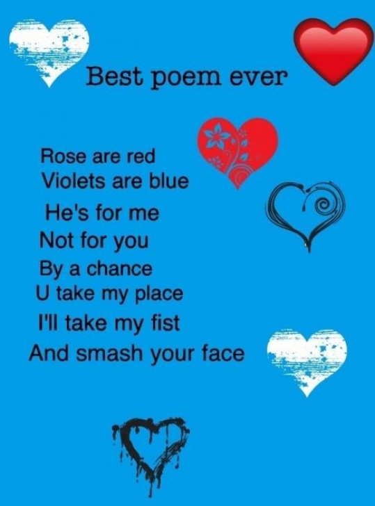 Greatest Red Is Rose Violet Is Blue Photo955