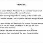 Greatest Short Poems About Daffodils Image824