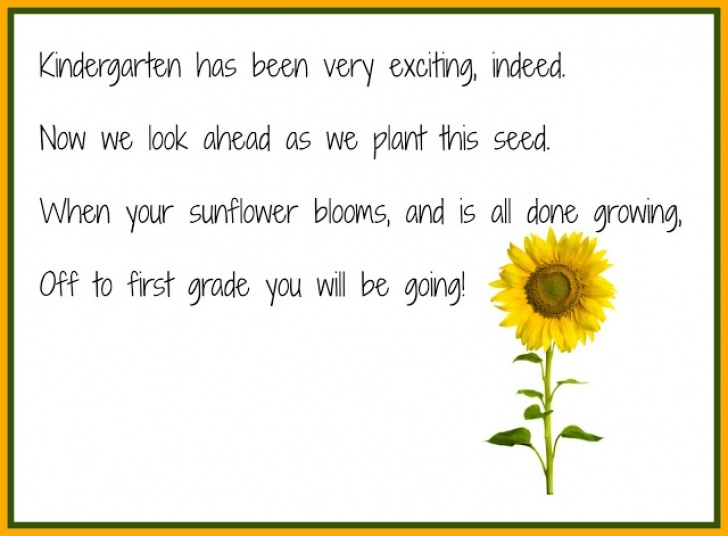 Greatest Sunflower Poem For Her Image473