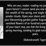 Greatest The Gardener Poem By Rabindranath Tagore Image034