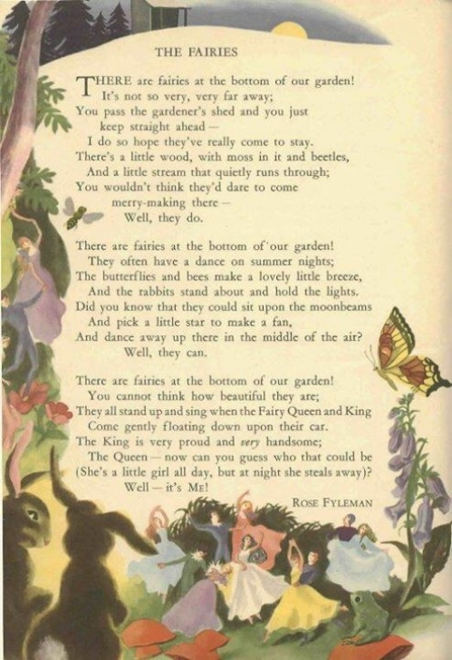 Greatest The Magic Garden Poem Pic144