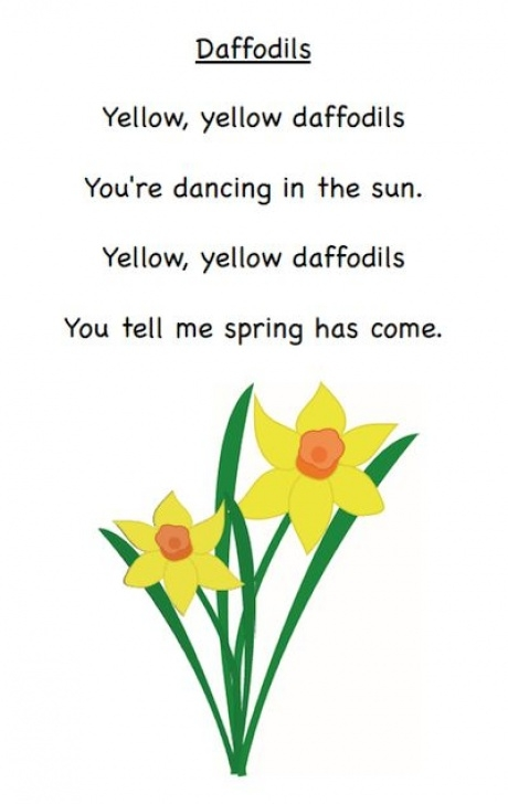 Greatest To Daffodils Poem Image191