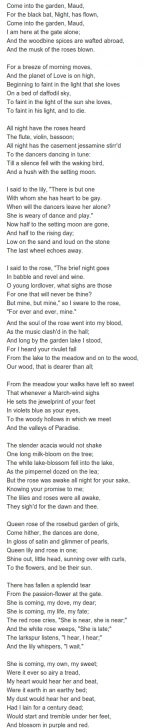 Inspirational Into The Rose Garden Poem Pic725