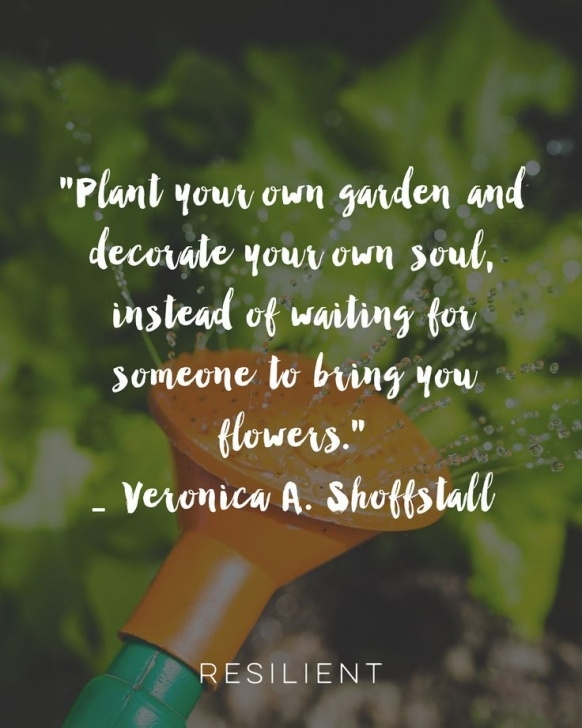 Inspirational Plant Your Own Garden And Decorate Your Own Soul Pic790