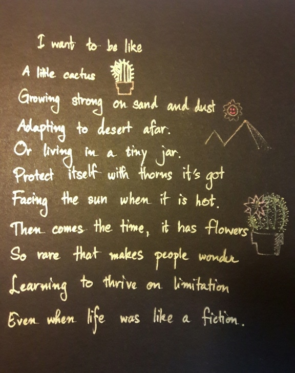 Inspirational Poem About Cactus Picture870
