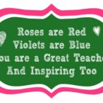 Inspirational Rose Rhyme Poem Picture910