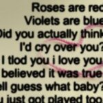 Inspirational Roses Are Red Violets Are Blue And I Love You Image295