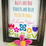 Inspirational Roses Are Red Violets Are Blue Birthday Photo986