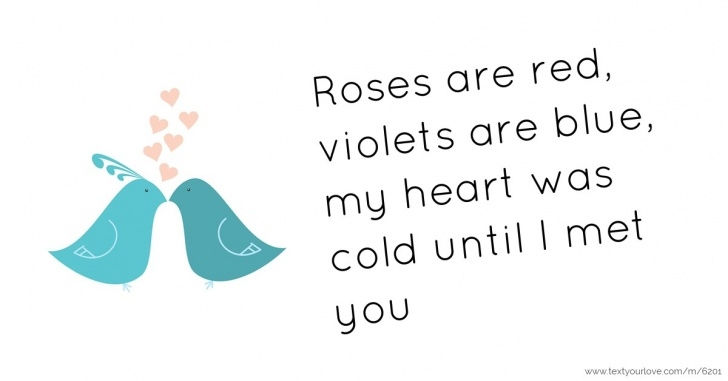 Inspirational Roses Are Red Violets Are Blue For Friends Image212