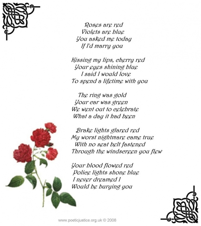Inspirational Roses Are Red Violets Are Blue Mean Poems Image646