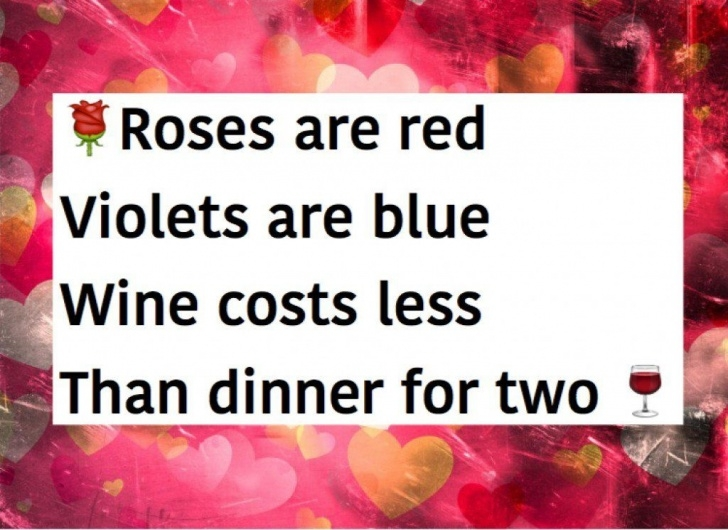 Inspirational Roses Are Red Violets Are Blue Poems Romantic Image129