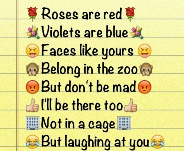 Inspirational Roses Are Red Violets Are Red Pic988