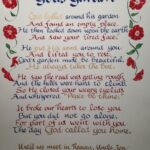 Inspiring Flower In God'S Garden Poem Picture097