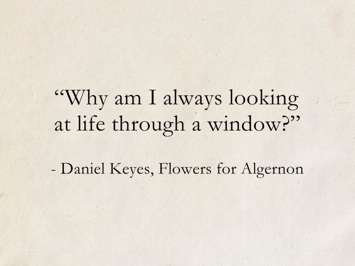 Inspiring Flowers For Algernon Poem Image610