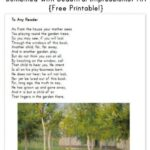 Inspiring Garden Poems For Kids Picture077