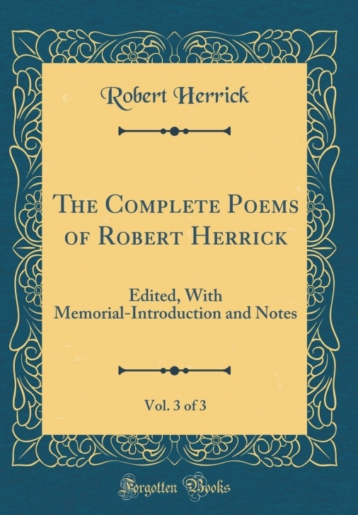 Inspiring Poem To Blossoms By Robert Herrick Picture782