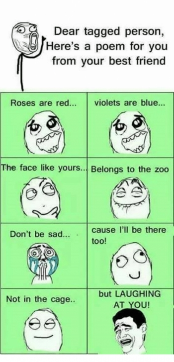 Inspiring Roses Are Red Violets Are Blue Friendship Poems Pics442