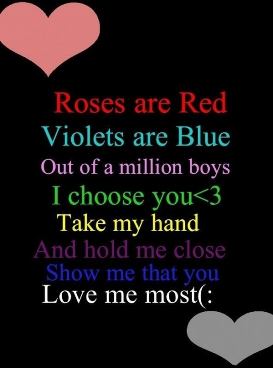 Marvelous Best Roses Are Red Violets Are Blue Pic368