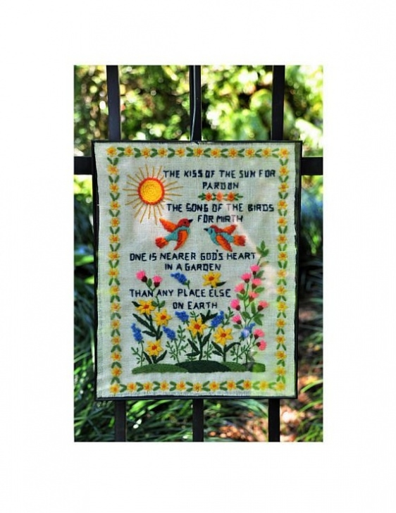 Marvelous God'S Flower Garden Poem Pic674