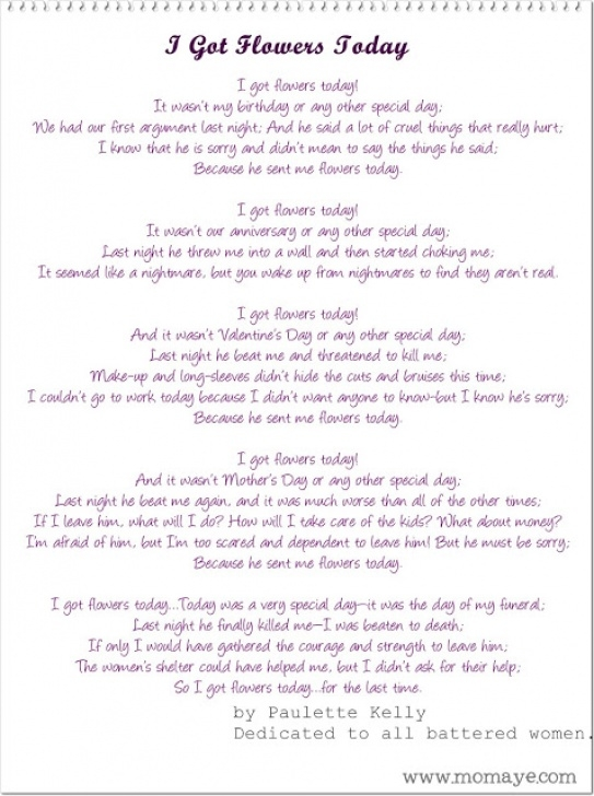 Marvelous I Got Flowers Today Poem By Paulette Kelly Pic421