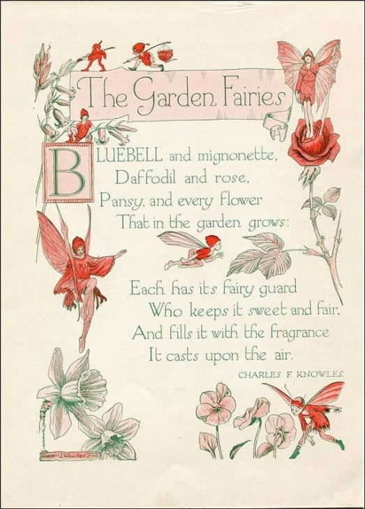 Marvelous Poems About Flowers And Gardens Picture867