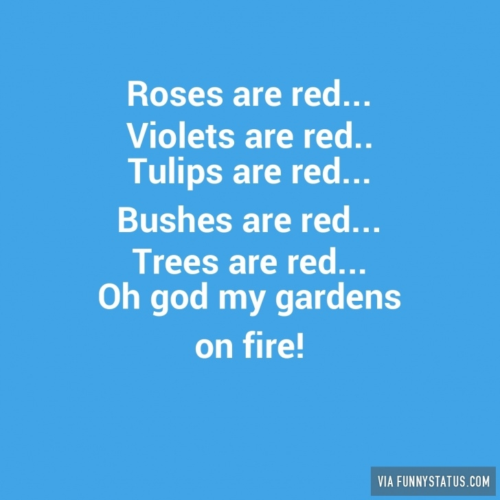 Marvelous Rhyme Roses Are Red Violets Are Blue Image091