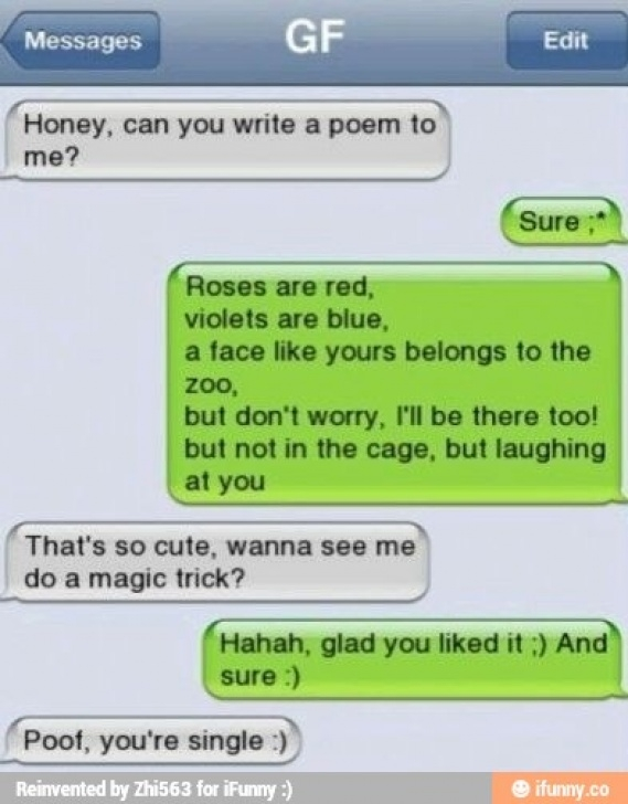Marvelous Roses Are Red Violets Are Blue Poems Rude Picture151