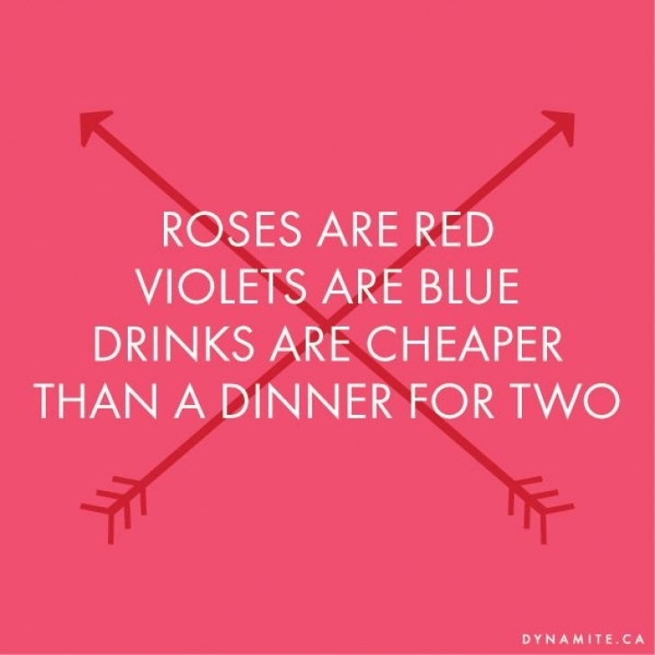 Marvelous Roses Are Red Violets Are Blue Romantic Funny Photo056