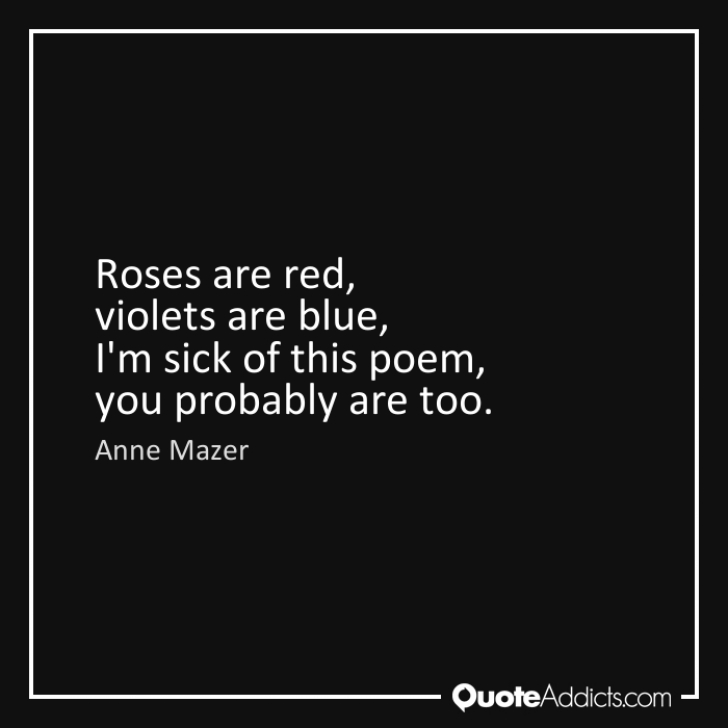 Marvelous Rude Roses Are Red Poems Image038