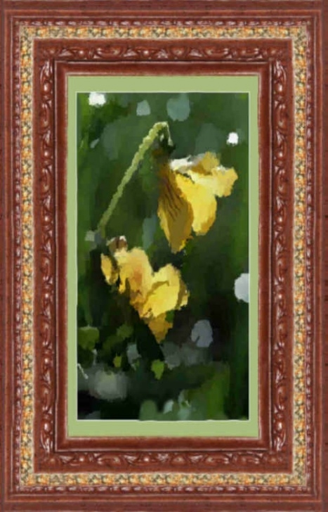 Marvelous The Yellow Violet By William Cullen Bryant Pic366