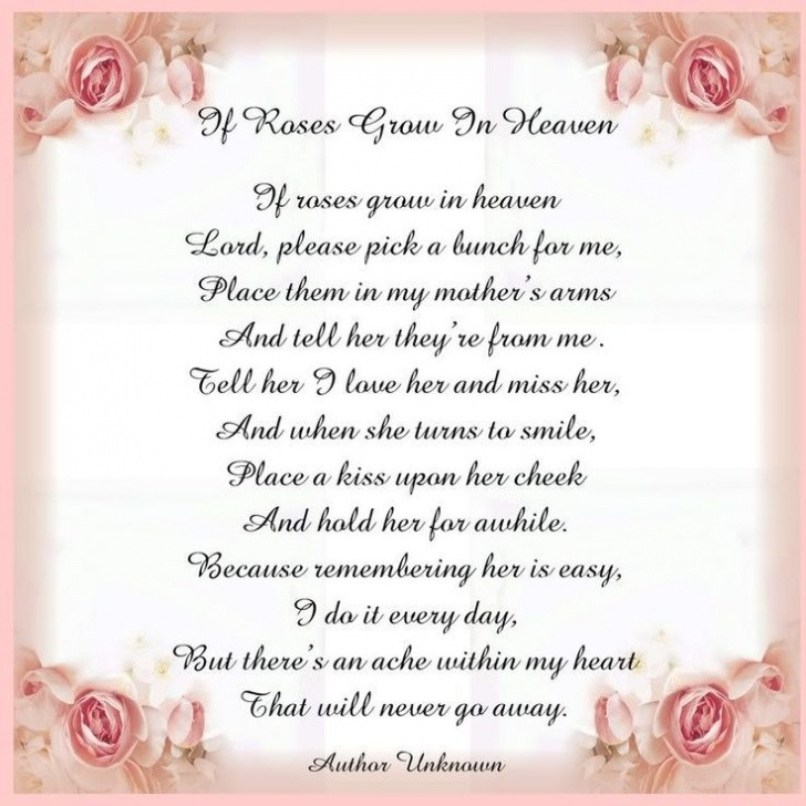 Most Famous Flowers In Heaven Poem Pic935