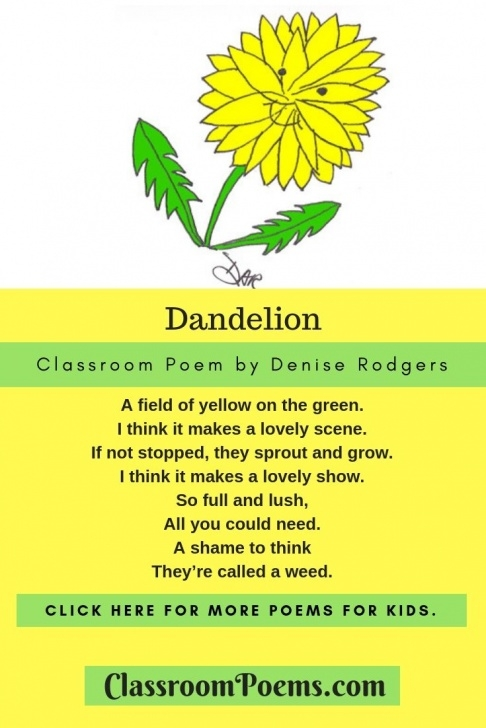 Most Famous Funny Poems About Flowers Image398