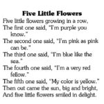 Most Famous Poem The Flower School Photo613