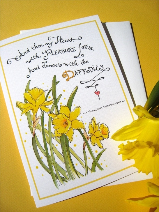 Most Famous Poem To Daffodils Pic774